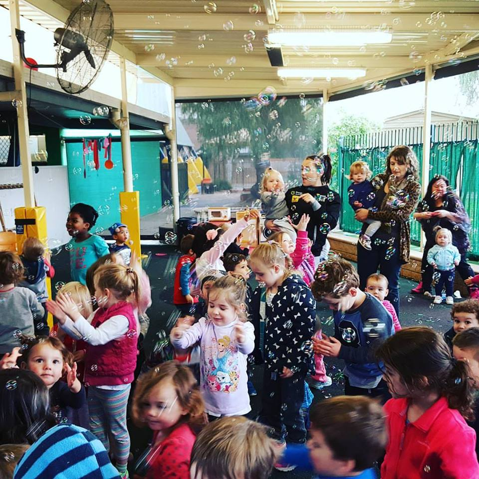 Adelaide Child Care Centre with Mr Oopy Kids Party Entertainer