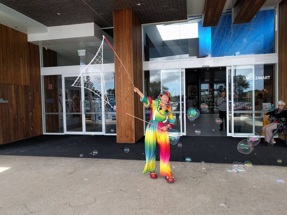 Bubble Show Gilles Plains Shopping Centre Adelaide