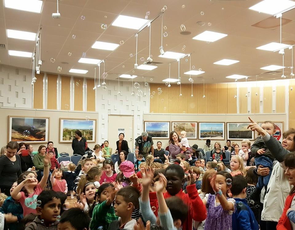 Hamra Library Childrens Entertainer Adelaide