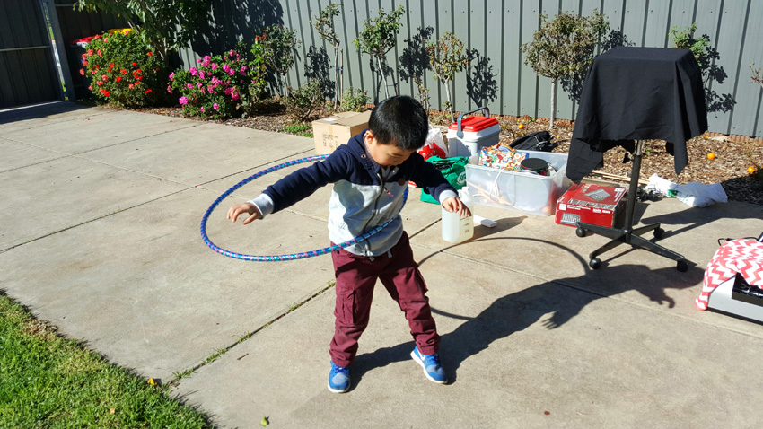 Hoola Hoops with Childrens Party Entertainer