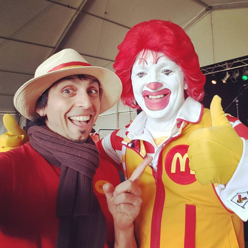 Mr Oopy Adelaide Bubble Show and Ronald McDonald at the Gawler Show