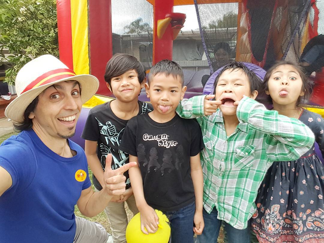childrens birthday entertainment adelaide, singapore, hongkong, dubai