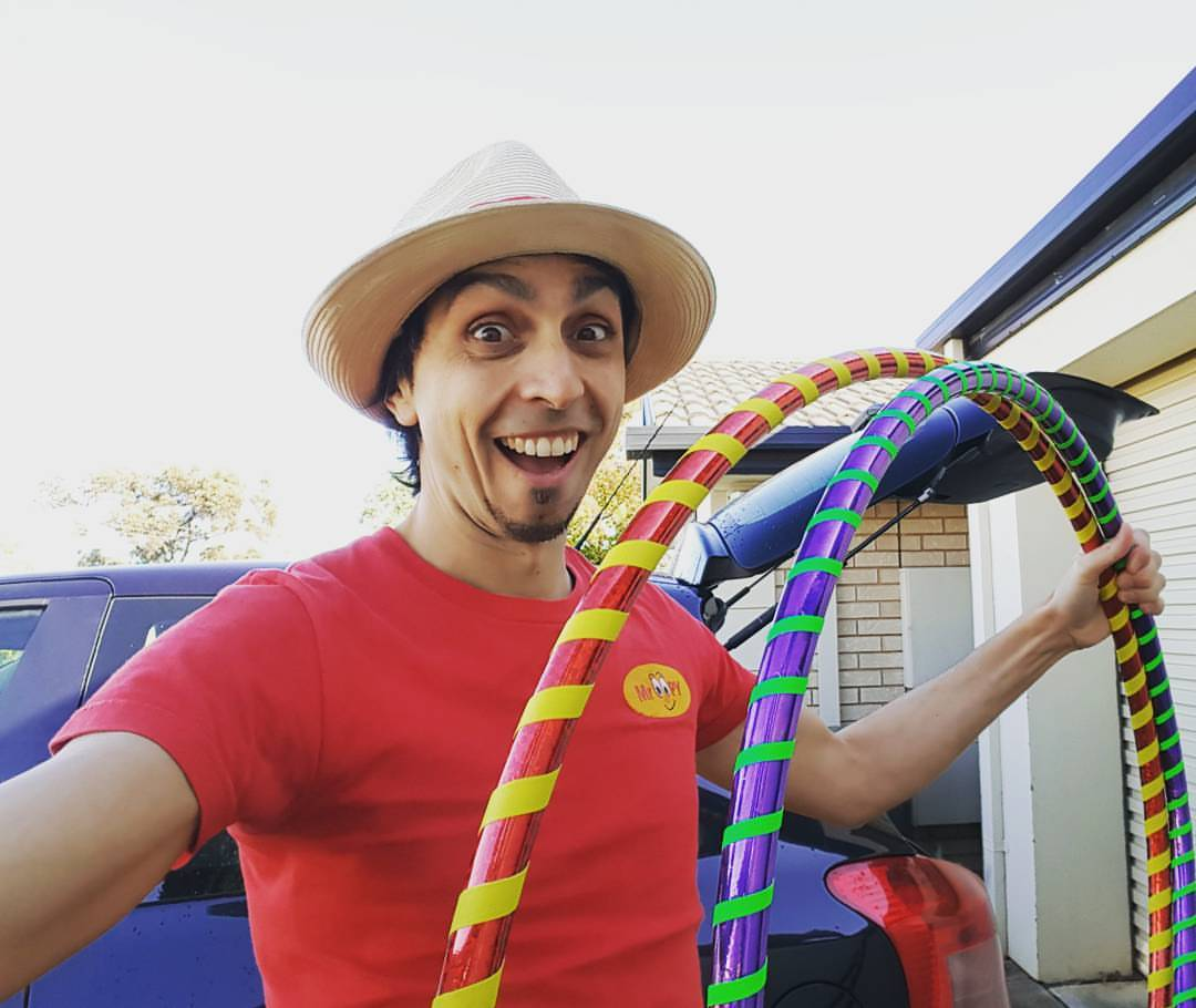 Hoola Hoops With Mr Oopy Childrens Entertainment Adelaide