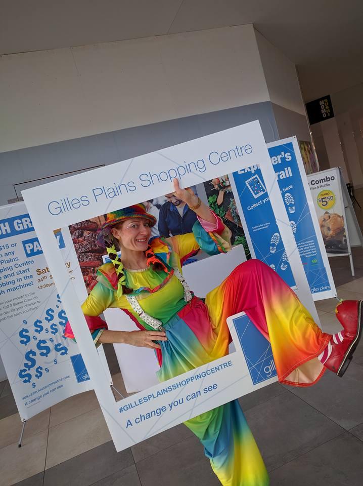 Bubbles Show Adelaide at Gilles Plains Shopping Centre Australia