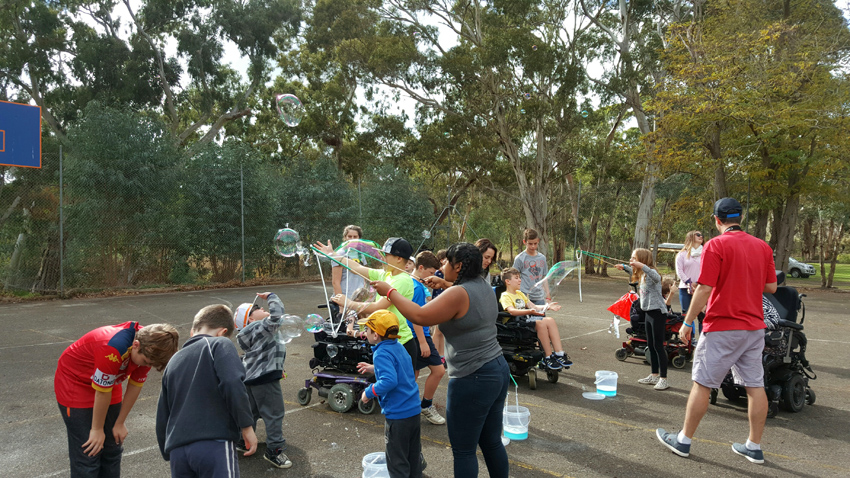 Kids Party entertainer adelaide muscular dystrophy2