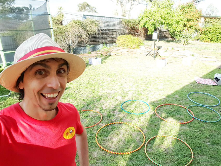 Mr Oopy The Adelaide Bubble Man