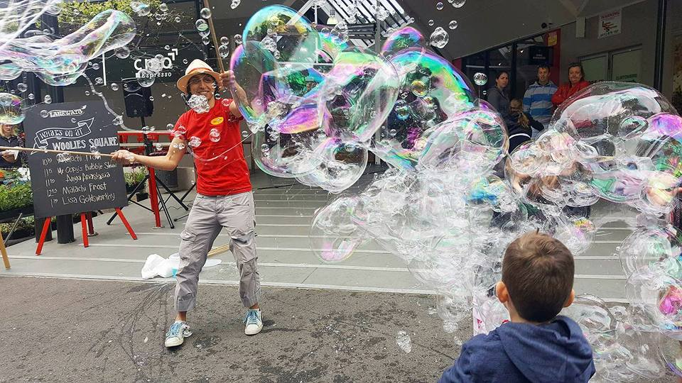 Stirling Markets Adelaide Bubble Show