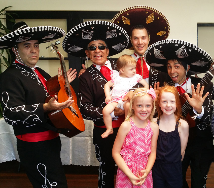 One Year Childrens Birthday with Mariachi Band Adelaide Australia